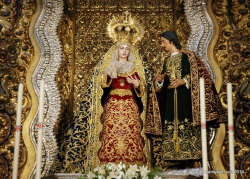 Iglesia de San Antonio Abad, Séville, Andalousie, Espagne