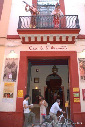 Casa de la Memoria, Calle Cuna, Séville, Andalousie, Espagne
