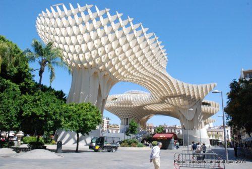 Metropol Parasol, Séville, Andalousie