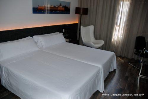 Hôtel Tryp Caleta, Cádiz, Andalousie, Espagne