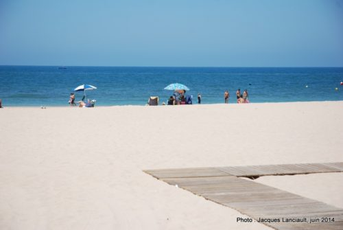 Playa de la Victoria, Cádiz, Andalousie, Espagne
