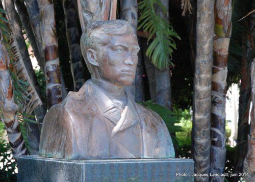 José Rizal, Jardines de Alameda Apodaca, Cádiz, Andalousie, Espagne