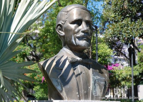 Juan Pablo Duarte, Jardines de Alameda Apodaca, Cádiz, Andalousie, Espagne