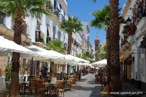Calle Virgen de la Palma, Cádiz, Andalousie, Espagne