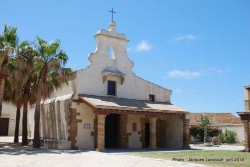 Capilla de Santa Catalina, Castillo de Santa Catalina, Cádiz, Andalousie, Espagne