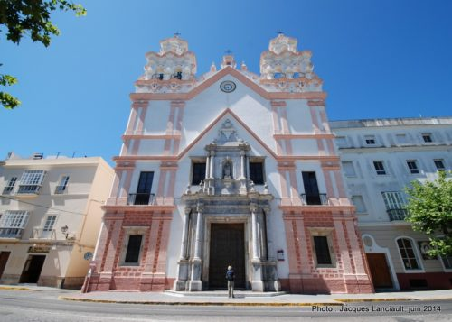 Iglesia Nuestra Señora del Carmen y Santa Teresa, Cádiz, Andalousie, Espagne