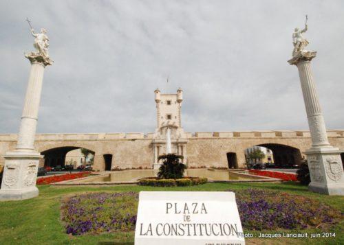 Plaza de la Constitución, Cádiz, Andalousie, Espagne