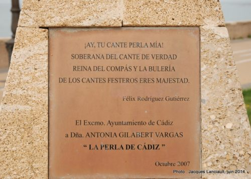La Perla de Cádiz, Cádiz, Andalousie, Espagne