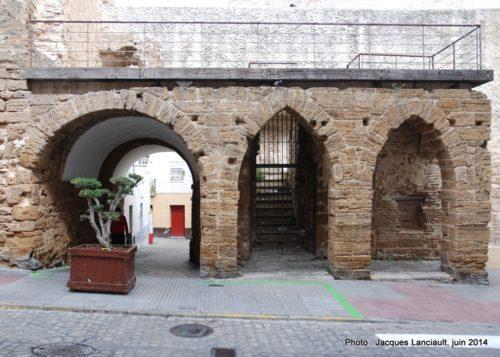 Arco de los Blanco, Cádiz, Andalousie, Espagne