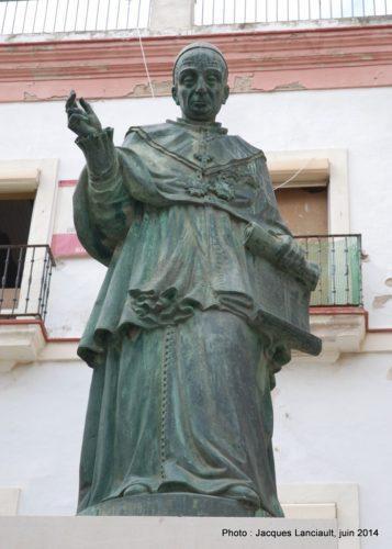 Fray Dominico de Silos Moreno, Cádiz, Andalousie, Espagne
