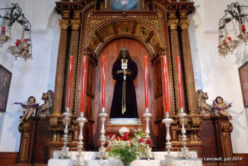 Iglesia Santa Cruz, Cádiz, Andalousie, Espagne