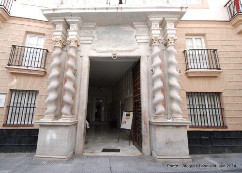 Casa de las Cadenas, Cádiz, Andalousie, Espagne