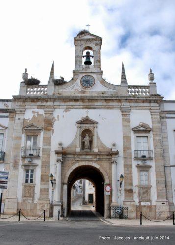 Arco de Vila, Faro, Algarve, Portugal