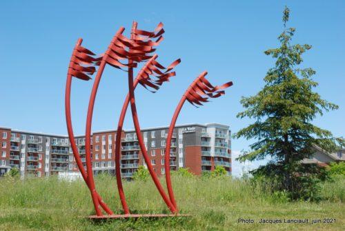 Ensemble, Vasil Nikov, parc des Francs-Bourgeois, Boisbriand, Québec