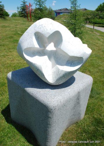 À fleur de silence, Juan Carlos Prada, parc des Francs-Bourgeois, Boisbriand, Québec