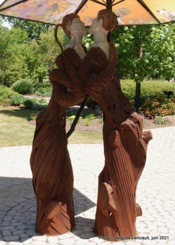 Les racines de l'être, Maud Palmaerts, Maison Hamilton, Rosemère, Québec