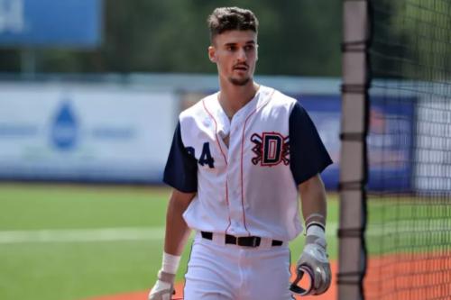Jean-Christophe Masson, Diamants de Québec, Ligue de baseball junior élite du Québec