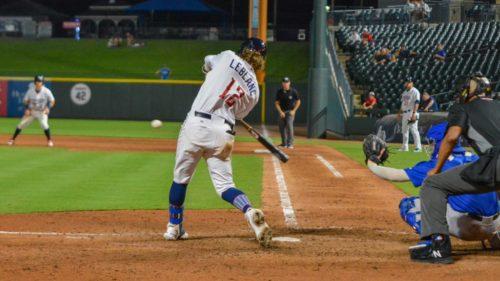 Charles Leblanc, Express de Round Rock, Rangers du Texas (AAA)