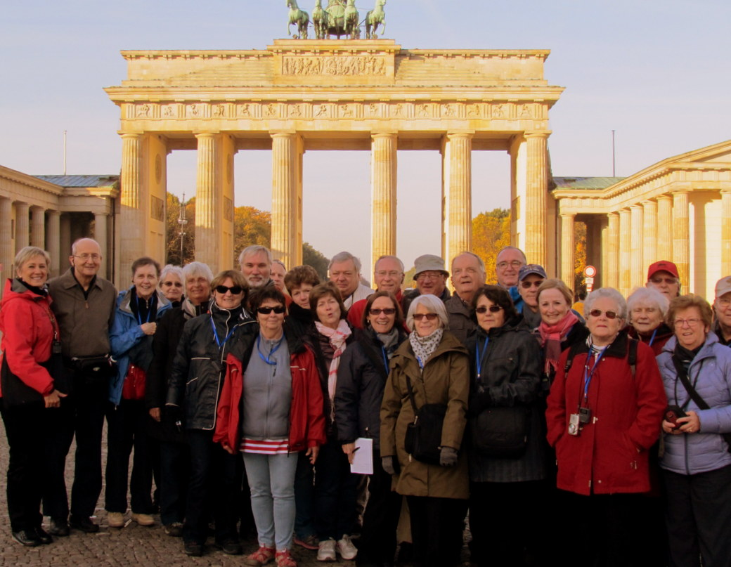 Groupe Voyages Lambert, Berlin, Allemagne.