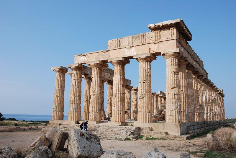 ruines historiques en italie