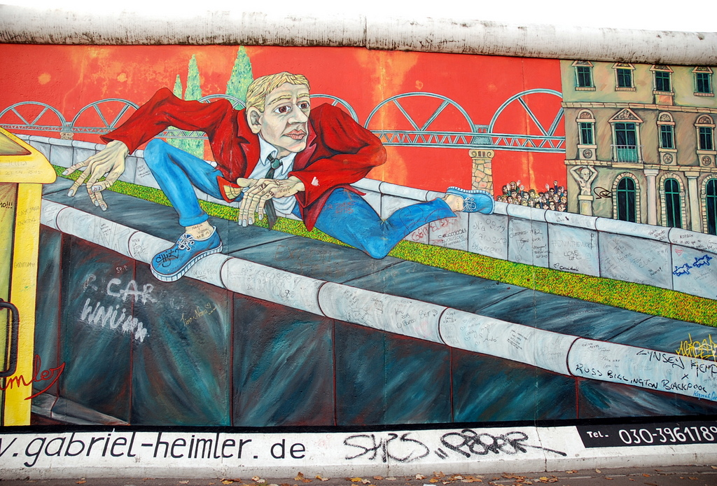 East Side Gallery, Berlin, Allemagne