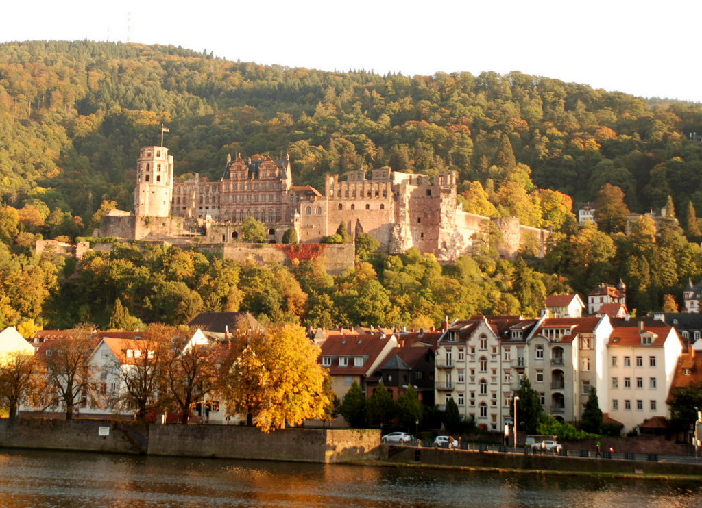 Chateau, Heidelberg, Allemagne