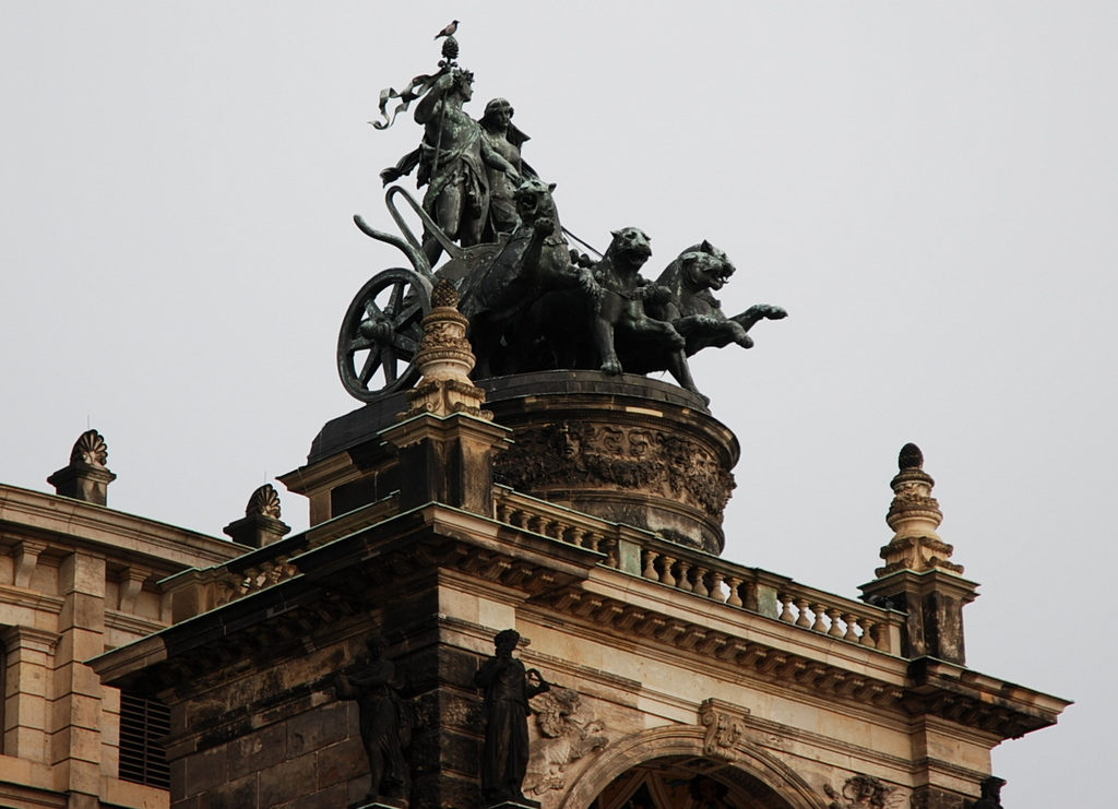 Zwinger, Dresde, Saxe, Allemagne