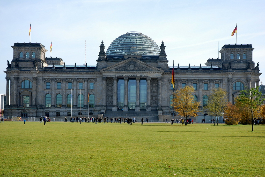 Le Reichstag, Berlin, Allemagne