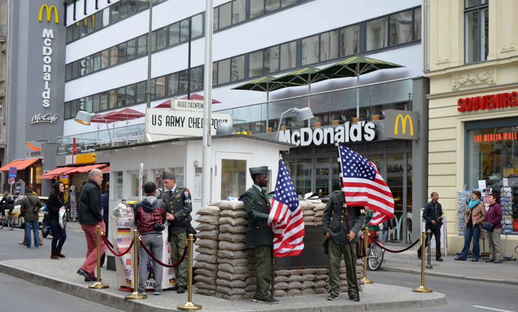 Checkpoint Charlie, Berlin, Allemagne
