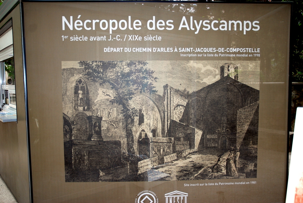 Alyscamps, Arles, France