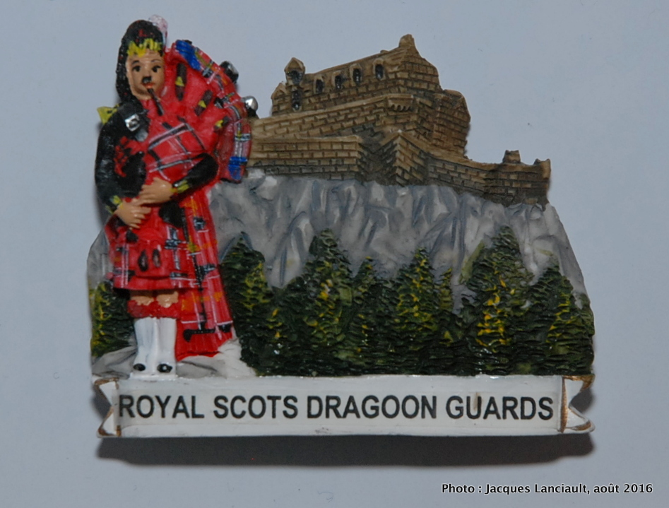 Royal Scots Dragoon Guards, Écosse, Royaume-Uni
