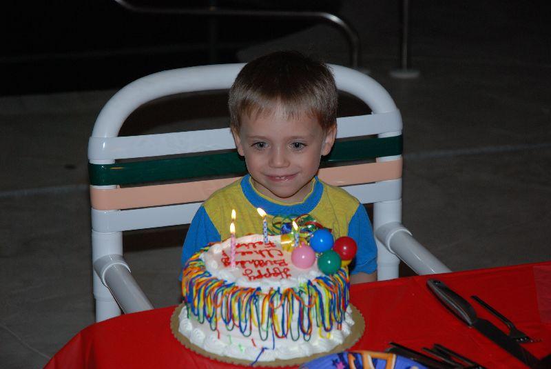 Quatrième anniversaire de Félix.