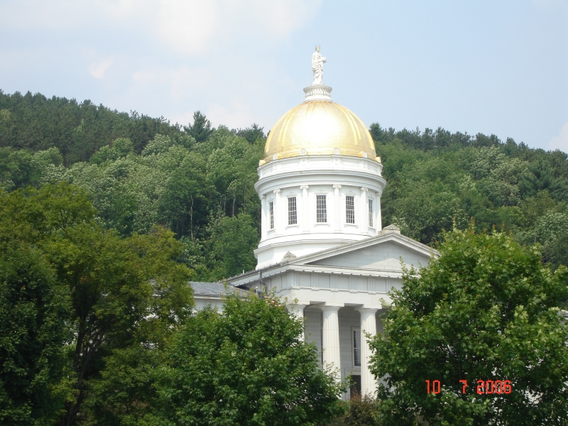 State Capitol, Montpelier, Vermont.