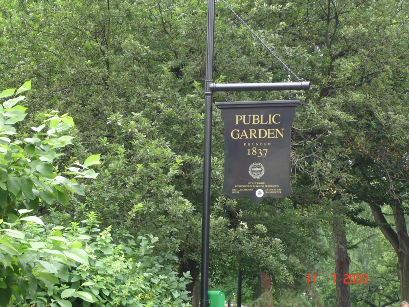 Public Garden, Boston, Massachusetts.