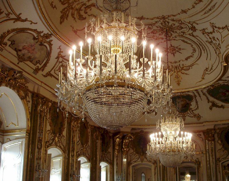 Trois superbes palais mafra sintra et quelouz jacqu - Salle du trone versailles ...