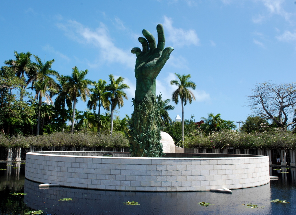 Mémorial de l'Holocauste, South Beach, Miami, Floride, États-Unis