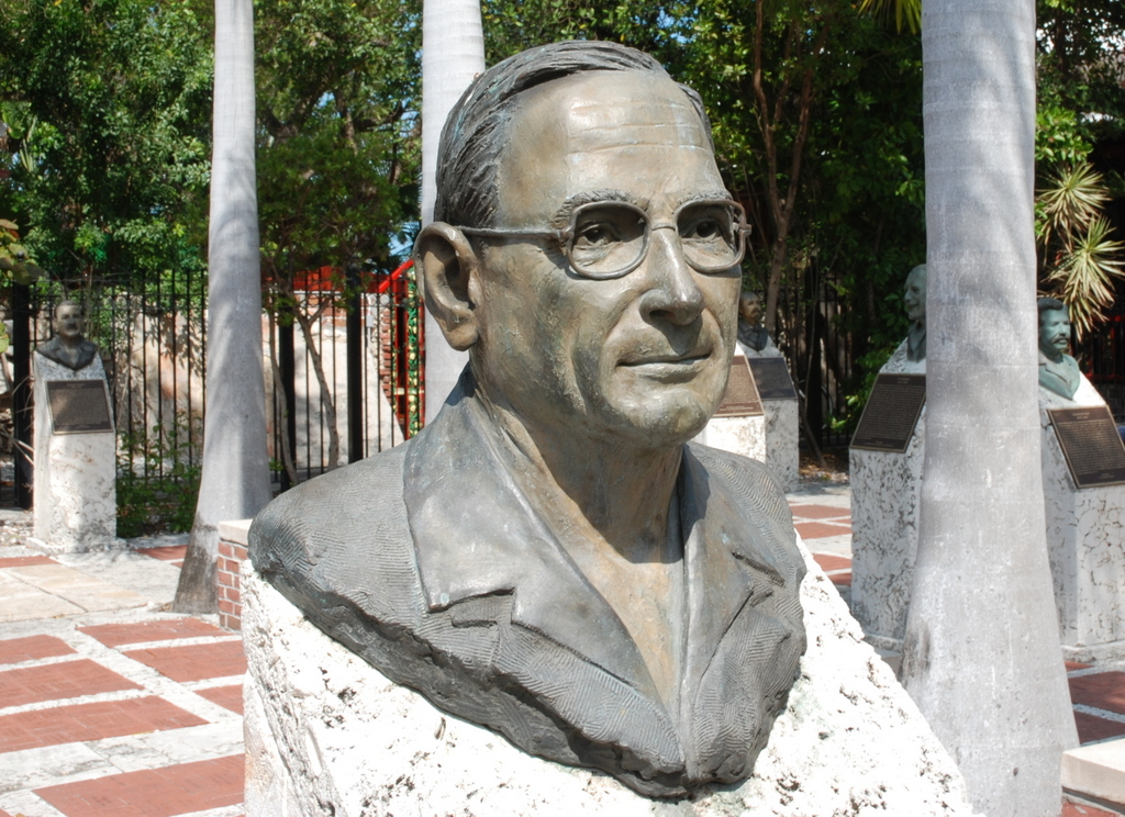 Harry Truman, Key West Historic Sculptures Garden, Key West, Floride, États-Unis
