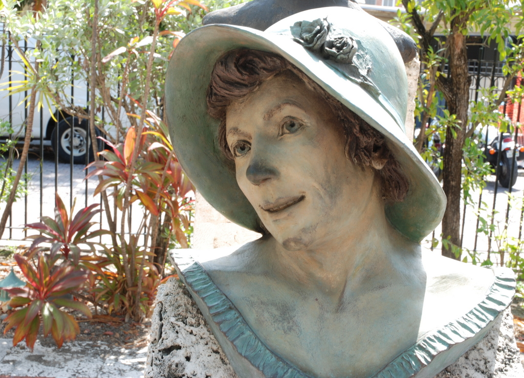 Ellen Russell Mallory, Key West Historic Sculptures Garden, Key West, Floride, États-Unis