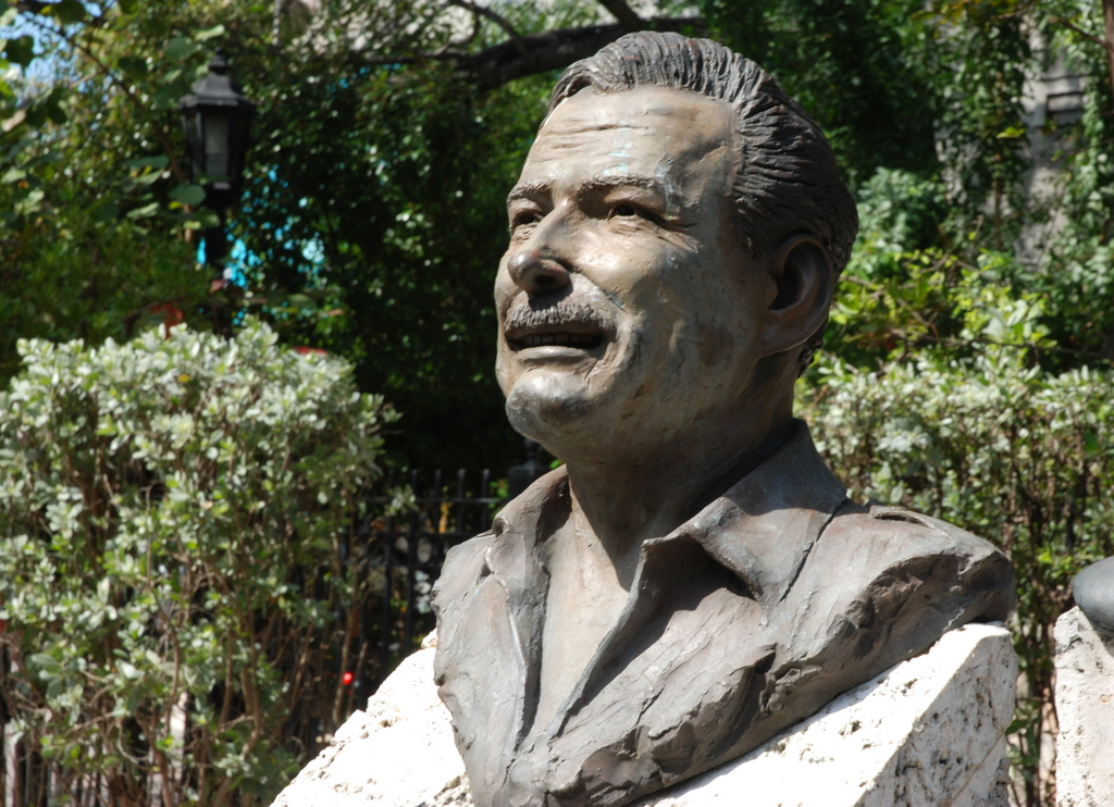 Ernest Hemingway, Key West Historic Sculptures Garden, Key West, Floride, États-Unis
