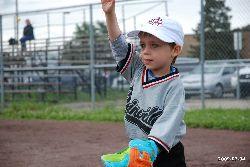 Félix au baseball, Blainville, Québec.