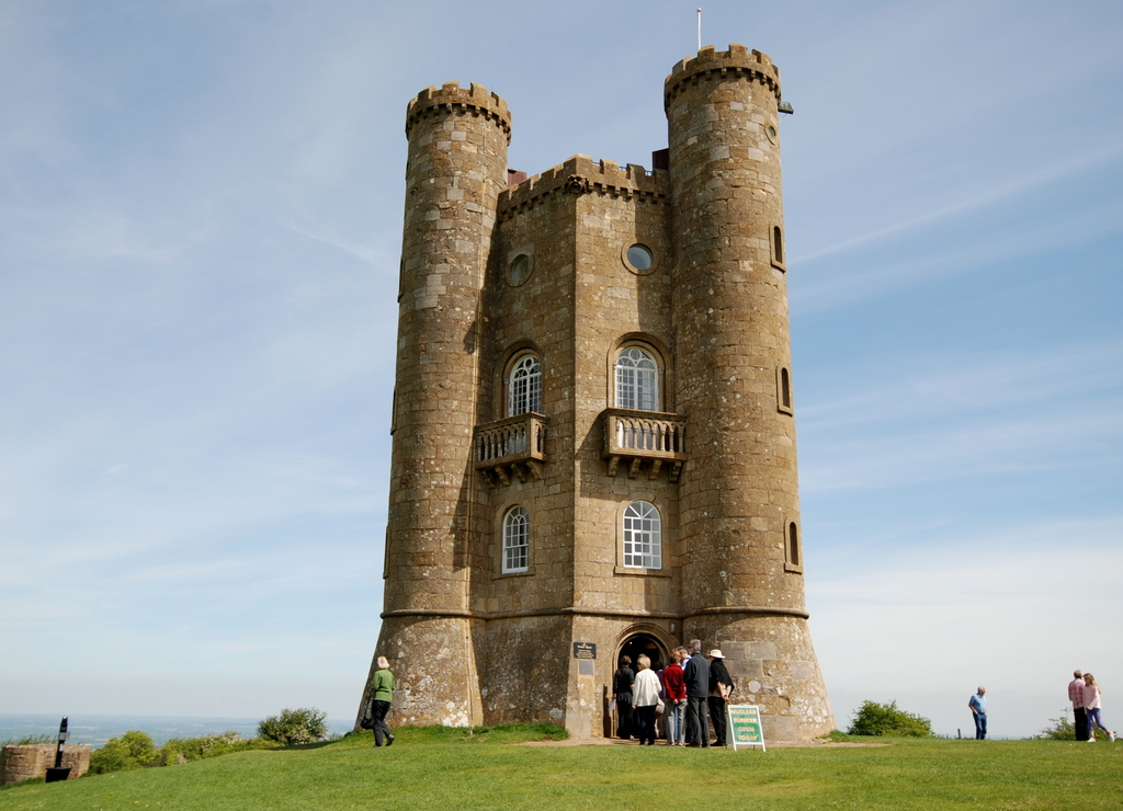 Broadway Tower, Cotswold, Grande-Bretagne