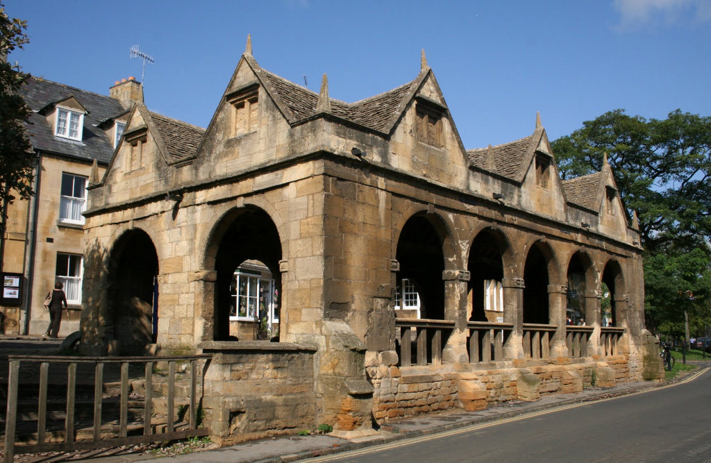 Market Hall, Chipping Campden, Cotswold, Grande-Bretagne