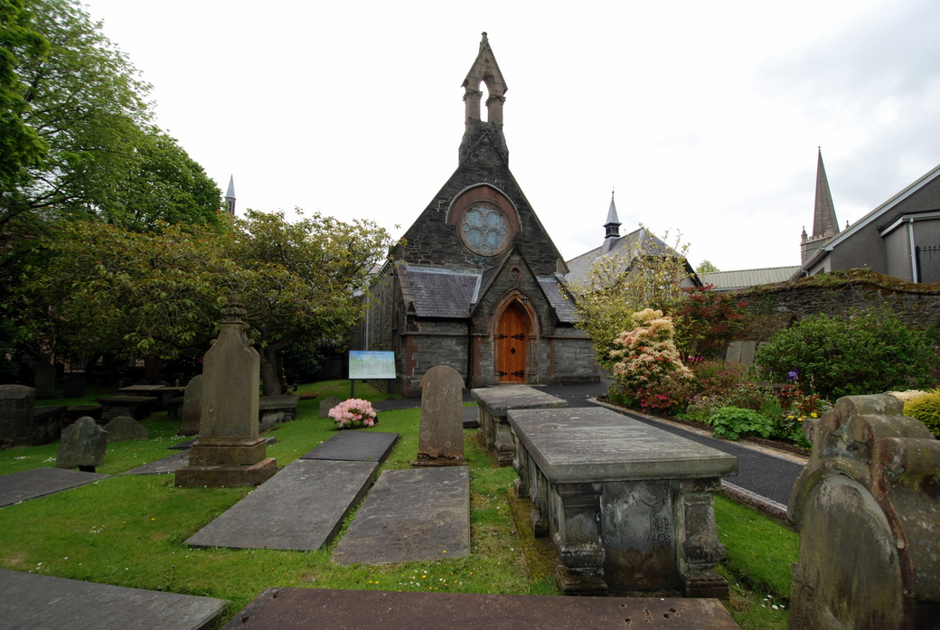 St Augustine's Church of Ireland, Londonderry, Irlande du Nord, Royaume-Uni