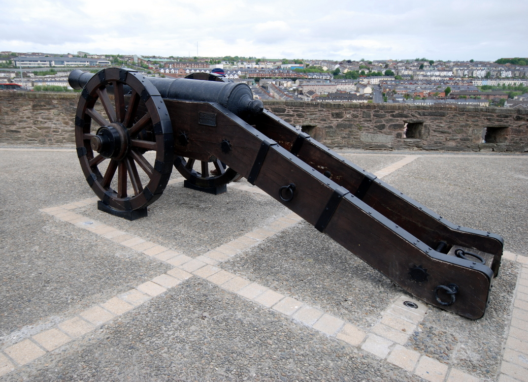 Double Bastion, Londonderry, Irlande du Nord, Royaume-Uni