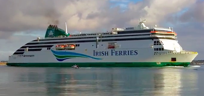 Ulysses, Irish Ferries