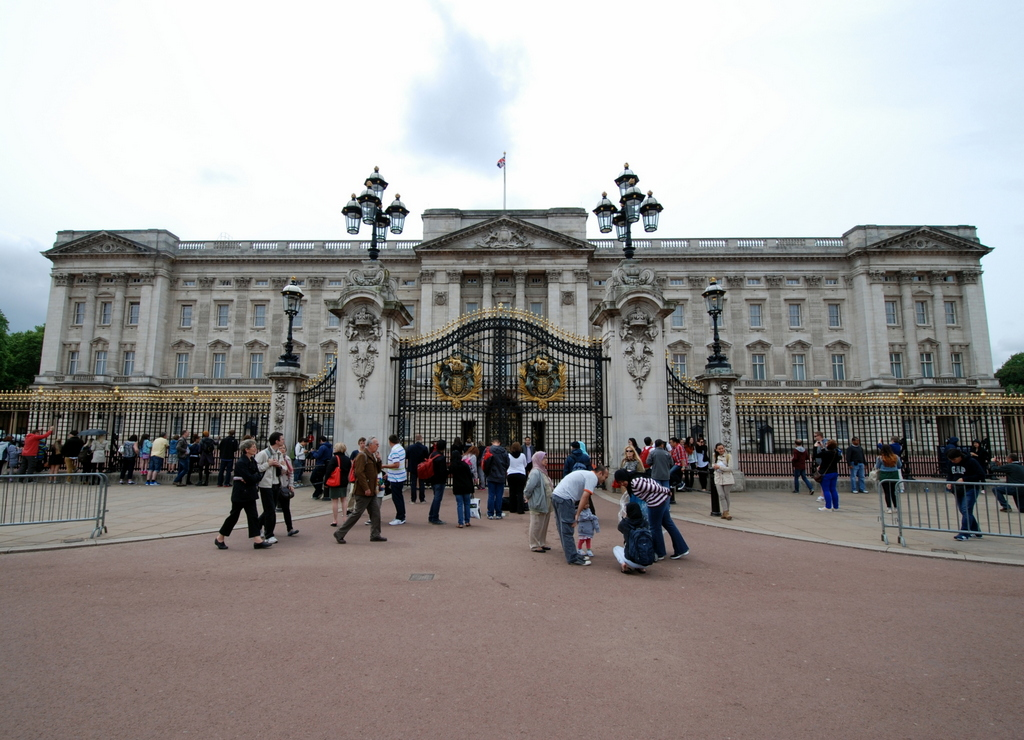 Buckingham Palace, Londres, Angleterre, Royaume-Uni