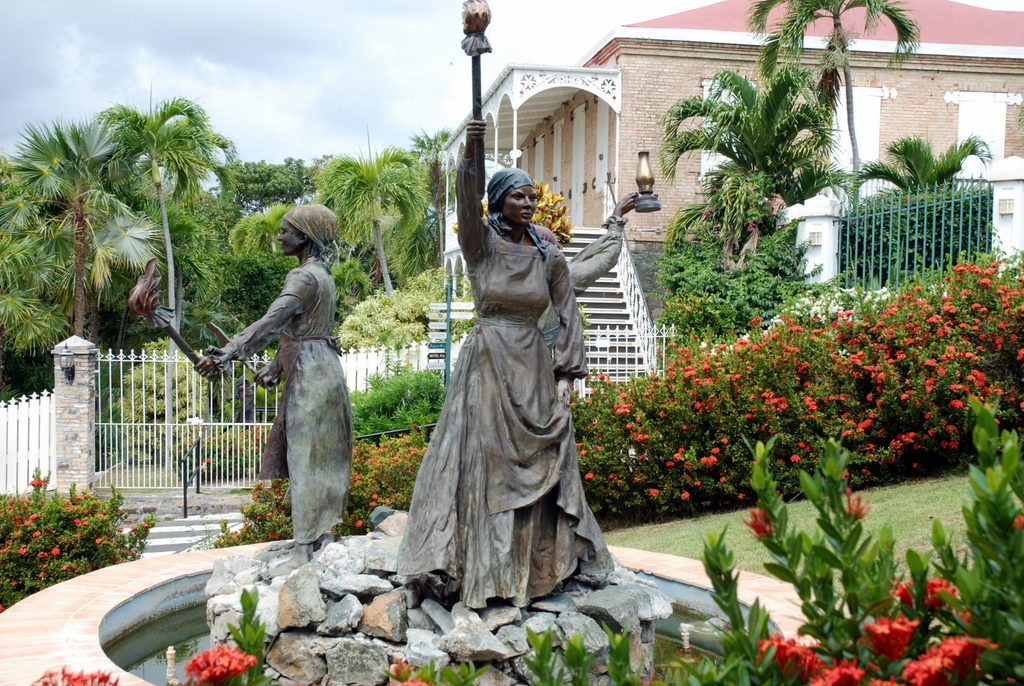The three Queens of the Virgin Island, Charlotte Amalie, Îles Vierges des États-Unis