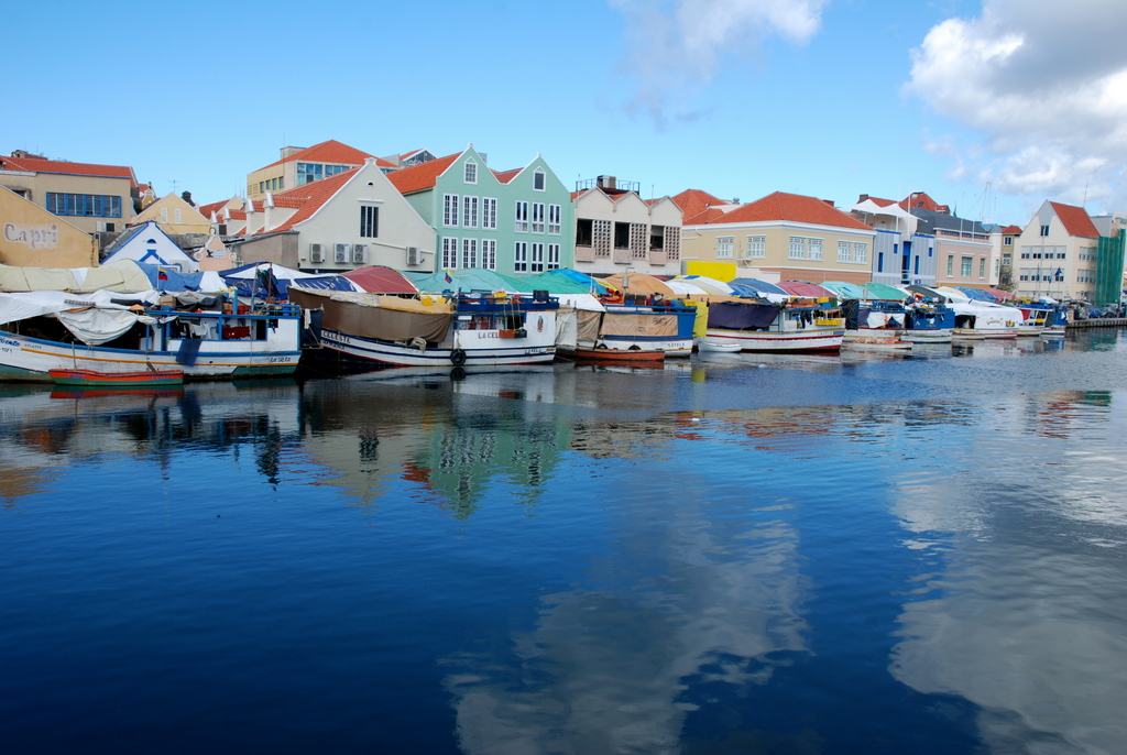 Floating Market, Willemstad, Curaçao, Pays-Bas