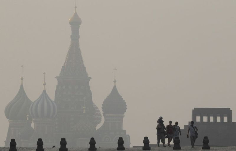 Incendies en Russie