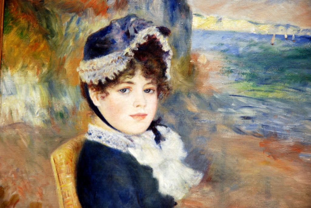 By the Seashore, Auguste Renoir, Metropolitan Museum of Art, New York, É,-U.